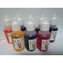 Color Para Jabón De Glicerina 5 Piezas 30 Ml.