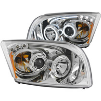 Dg Caliber 07-up Projector H.l W/led Bar Chrome(ccfl)