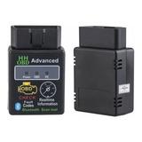 Escaner Automotriz Hh Obd2 Advanced Bluetooth Elm327 + Soft