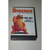 Vhs Garfield La Pelicula (infantil)