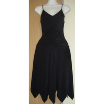 Vestido De Fiesta De Diseñador Little Black Dress Reina Diaz