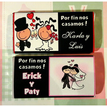 10 Bonitos Chocolates Personalizados Boda Xv Despedida Event