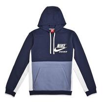 huge discount ba12d f990c Nike Hoodie Archive Chamarra Running Moda Hombre Sport