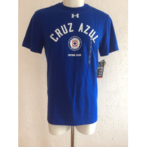 Playera Cruz Azul Graphic Color Azul Marca Under Armour 2015
