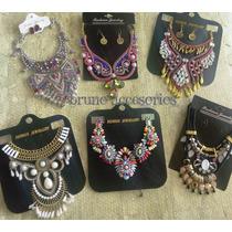 f1a155e54fb1 Lote 6 Maxi Collares Mayoreo Moda Outfits Regalo Mujer en venta en ...