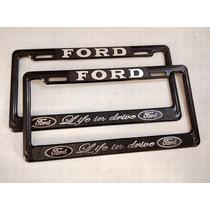 Porta Placa Para Autos Y Camionetas Ford