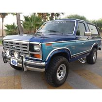 Bronco Xlt 4x4 1986