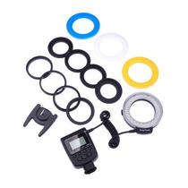 Ring Flash Macro 48 Leds Para Camara Dslr Canon Nikon