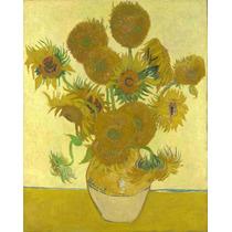 Lienzo En Tela Girasoles 1888 Vincent Van Gogh 63 X 50 Cm