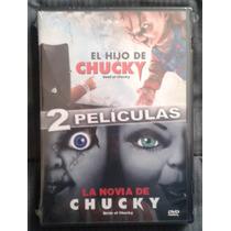 Dvd Doble La Novia De Chucky Y El Hijo De Chucky