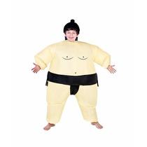Disfraz Luchador De Sumo Inflable Oriental Japon Para Niños