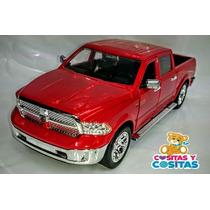Camioneta Colección Dodge Ram 2014 Sin Caja Escala 1/24