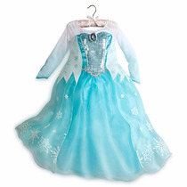 Vestido Frozen Elsa Disney Princesas Disney Store