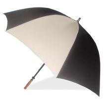 Sombrilla London Fog Deporte Golf Paraguas Negro / Gris, Un