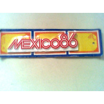 Logotipo Del Mundial Mexico 86 Logo World Cup Mexico 1986