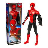 Spider Man Figura Far From Home Titan Hero Series De Hasbro.