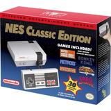 Nintendo Nes Classic Mini Nueva Original + 30 Juegos /u
