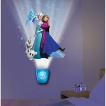 Lampara Led Frozen Decora Disney Elsa Anna Olaf Con Musica
