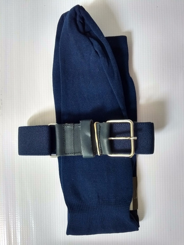 Cinturon Beisbol Azul Marino Medias Calcetas Softbol b2c07eaf1d22
