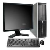 Computadora Barata Hp 4gb Ddr3 500hdd Lcd19 + Usb Wifi