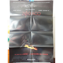 Poster Zodiaco Robert Downey Jr Mark Ruffalo David Fincher