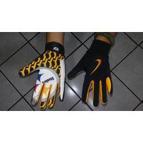 Guantes Futbol Americano Nike Steelers Touch Antiderrapantes