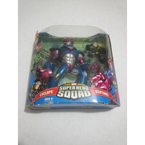 Marvel Super Hero Squad Sentinel Vs Cyclops Ciclope Universe