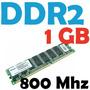 Memoria Ram Ddr2  1gb, Samsung  800mhz Pc2-6400 Para Pc