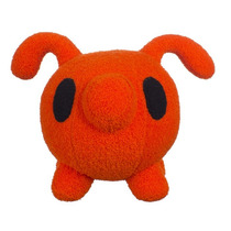 Cerdito Plush Puerquito Art Toy Naranja