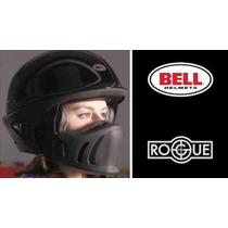 Bell Rogue Negro Mate Y Negro Con Gris Todas Las Tallas.