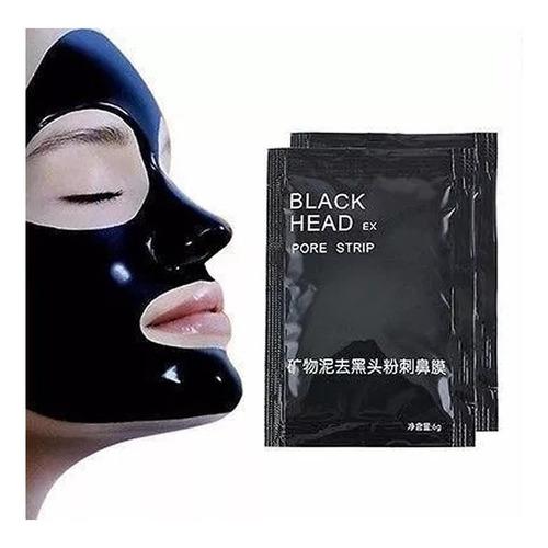 Mascarilla Negra Black Head Puntos Negros 10 Sobres 6g