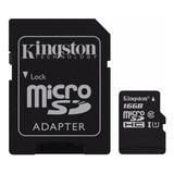 Tarjeta De Memoria Kingston Sdc10g2 Con Adaptador Sd 16gb