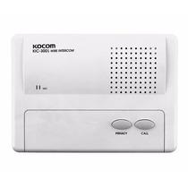 Intercomunicador Kic-300s Kocom Para Usar Con Kic-304m/308m