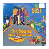 Revista Calendario 2021 The Beatles Yellow Submarine, Mod. 1