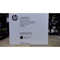 Cartucho Hp Original Q5945yc Negro Para Impresora 4345