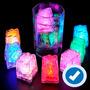 30 Hielos Luminosos Luz Led Activados Con Agua Envió Gratis