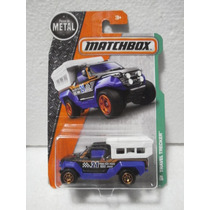 Matchbox Travel Tracker Camioneta Camper Azul 96/125