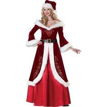 Disfraz De Santa Claus, Navidad Para Damas, Envio Gratis
