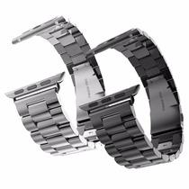 Correa De Acero Inoxidable Premium Para Apple Watch 38 42mm