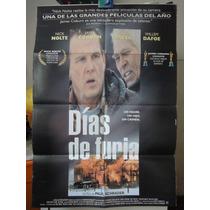 Poster Dias De Furia Nick Nolte James Coburn Willem Dafoe