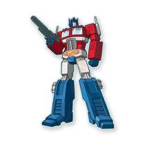 Aquarius Transformers Optimus Prime Magnet