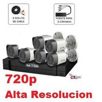 Kit 6 Camaras Alta Resolucion Hd Cctv Videovigilancia Hdcvi