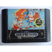 Sonic The Hedgehog 2 Para Sega Genesis Not For Resale