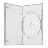 100 Estuche Dvd 14 Mm Sencillo Transp. Exc. Calidad Full