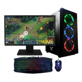 Pc Gamer Xtreme Amd Radeon R7 A10n 8800e 8gb 1tb Monitor Led