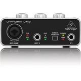Behringer Um2 Interfaz De Audio 2x2 Usb 48v, Full Y Garantia