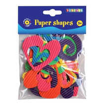 Formas Papel - Playbox 30 Piezas De Arte Y Manualidades