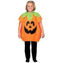 Disfraz De Calabaza Para Niños Halloween Jack-o-lanter