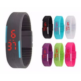 Reloj Touch Led Digital Unisex Deportivo Varios Colores Moda