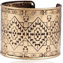 Brazalete Tipo Egipcio Color Oro Viejo Bisuteria Mayoreo